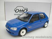 Peugeot 106 Rallye S2 1993 Blue 1/18 Otto Mobile ot621 NEW