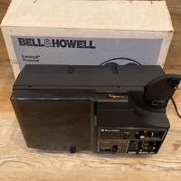 Vintage Bell & Howell Lumina MX60 8mm & Super 8 Movie Projector - FOR REPAIR
