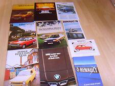 2 Car brochures 1979 Renault