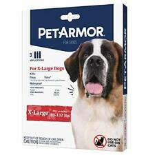 PetArmor for Dogs, Flea and Tick Treatment for Extra Large Dogs (89-132 Pounds),