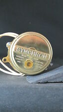 Synchron motor #630 110Volts 60~ with removable cam 4 watts 6 RPM K12RA  2-69