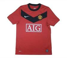 Manchester United 2009-10 Authentic Home Shirt (Excellent) S Soccer Jersey