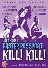 Faster Pussycat Kill Kill DVD Tura Satana Haji Russ Meyer Region Free New Sealed