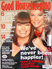 Good Housekeeping Magazine September 2007 Dawn French and Jennifer Saunders