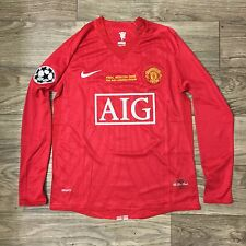 Cristiano Ronaldo Manchester United Jersey Men Medium Soccer