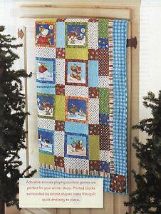 Winter Parade Quilt Pattern Pieced JK