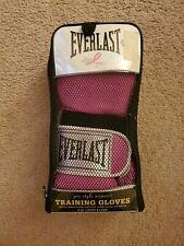 Everlast Women's Pro Style Training Gloves Pink 8oz New In Package model 2508w