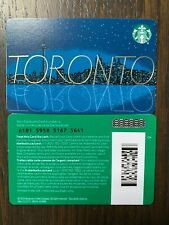 "Starbucks ""TORONTO CANADA 2020"" Recyclable Card - New No Value"