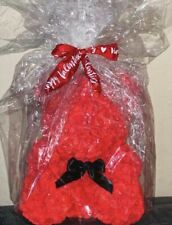 Rose Teddy Bear 15' Bagged - Red, Pink & White