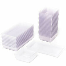 airberlin Kunststoff Schalen Set transparent 30-teilig | NEU