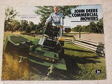 1983 JOHN DEERE 32, 36, 48, & 52 COMMERCIAL LAWN MOWERS BROCHURE