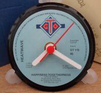 *new* HEATWAVE (band) vinyl record CLOCK    Actual original vinyl records