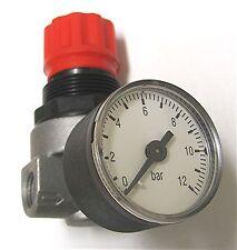 Kompressoren - Druckminderer 1/4 Zoll  Druckluft-Regler Mini - Druckregler