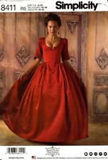 Simplicity Sewing Pattern 8411 Womens Dress Costume Size 14-22 NEW