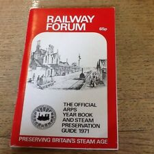 Railway Forum ARPS year Book 1971