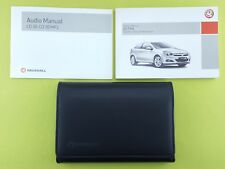 Vauxhall Astra (2004 - 2010) Owners Manual / Handbook + Audio Guide + Wallet