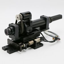 Sony XC-555 CCD Kamera mit motorisierten Verfahrschlitten