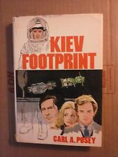 Kiev Footprint by Carl A. Posey 1983 Hardcover Good Condition
