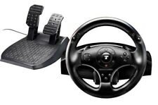 THRUSTMASTER T100 FORCE FEEDBACK RACING WHEEL & PEDALS FOR PC PS3 PS4 NEW