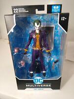 """JOKER 7"""" Action Figure Batman Arkham Asylum DC Multiverse McFarlane Toys 2020"""