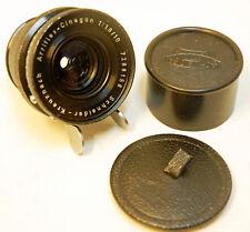 "RARE Objectif "" SCHNEIDER "" Cinegon -MOUNT "" ARRI ST 16"" - F10  mm ..1:1.8-TBE"