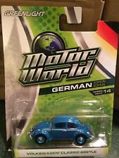 Greenlight MOTOR WORLD Series 14 Volkswagen Classic Beetle   Blue