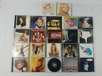 Lot of 20 CDs Pop Artists (CC-265) Taylor Swift Coldplay Hilary Duff Jewel etc.