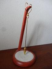 """13"""" Cherry Sand Art Pendulum"""
