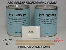 Hd Projector / Projection Screen Paint - All in 1 Kit -Solution + Base Coat -3D