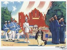 """WHITING INDIANA """"Life of Whiting""""  Card #8 4th of July"""