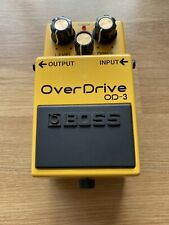 Boss Overdrive OD-3 Pedal