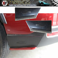 Rear Bumper Lip ABS 3D Carbon Look Fits For 2014 2015 2016 SUBARU FORESTER