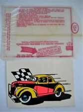 Original Vintage Impko 1939-40 Ford Modified Stock Car Racing Water Decal Nice