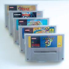 Cartridge Protectors for Nintendo SNES Super Famicom 0.3mm Thick (10 Pack)