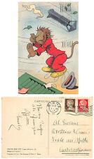 A7910) CRAVERI, QUINTA SERIE DEL VITTORIOSO I MESI DELL'ANNO, MARZO. VG NEL 1946