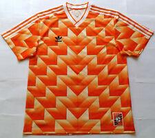 HOLLAND NETHERLANDS Euro 1988 Adidas Originals Shirt (L) Jersey NEDERLAND 1980s