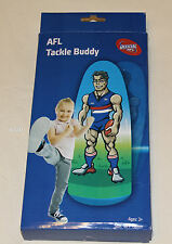 Western Bulldogs AFL Kids Inflatable Player Tackle Buddy 50cm x 130cm New