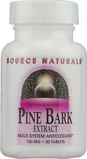 Source Naturals Pine Bark Extract 150 mg 30 Tablet 30 tab