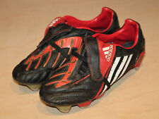 Adidas Predator Powerswerve Football Boots TRX FG, UK 6, Metal Studs, Black/Red