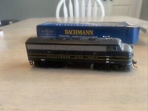 HO scale Bachmann F7a With DCC installed