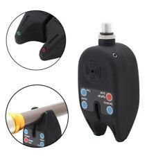 Electronic 2 LEDs Light Fish Bite Sound Alarm Alert Bell For Fishing Rod Adjust