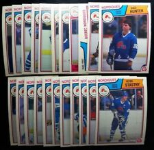 1983-84 O-Pee-Chee QUEBEC NORDIQUES TEAM SET OPC Hockey Cards NM - MINT