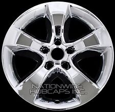 "4 CHROME 11-14 Dodge Charger 17"" Wheel Skins Hub Caps Rim Covers fits Alloy Rims"