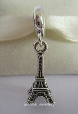 Authentic Genuine Pandora Sterling Silver Eiffel Tower Paris charm bead 791082
