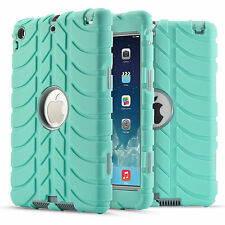 US Shockproof Military Rubber Kid Case Cover For iPad 2 3 4 /Mini /Air 1 2 /Pro