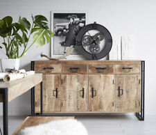 UP-Cycled Industrial Style Extra Large Sideboard made from Metal & Wood ID55