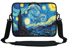 """12"""" Laptop Computer Sleeve Case Bag w Hidden Handle & Shoulder Strap  3009"""