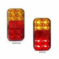 LED Autolamps 149BAR4P 12 Volt Stop / Tail / Indicator and Reflector Combination
