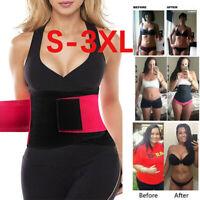 US Xtreme Power Belt Hot Slimming Fajas Sport Body Shapers Waist Trainer Trimmer