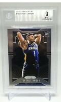 2019-20 Prizm Zion Williamson Rookie Basketball Card #248 BGS 9 MINT Pelicans RC